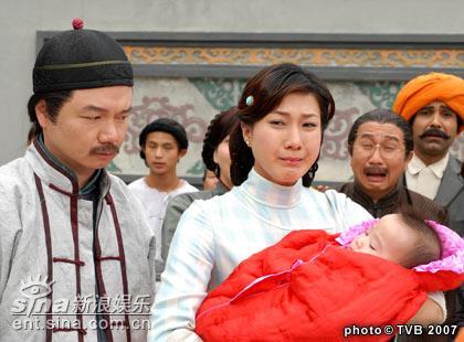 资料图片:TVB电视剧《迎妻接福》精彩剧照(7)