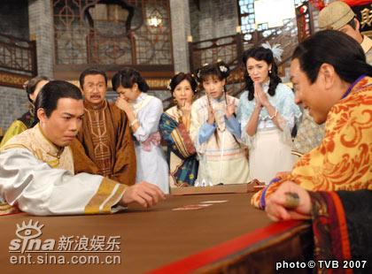 资料图片:TVB电视剧《迎妻接福》精彩剧照(16)