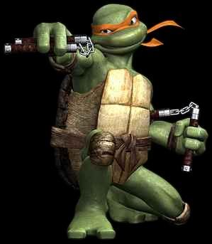 资料图片:动画片《忍者神龟》人物照(28)