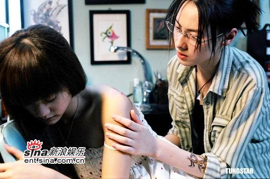 资料图片:《刺青》剧照--梁洛施杨丞琳