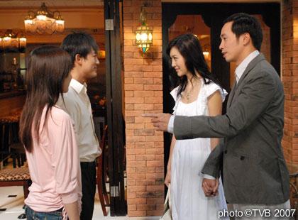 资料图片:TVB剧《溏心风暴》精彩剧照(43)