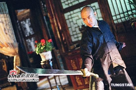 图文:重金打造《霍元甲》预告片--李连杰持刀