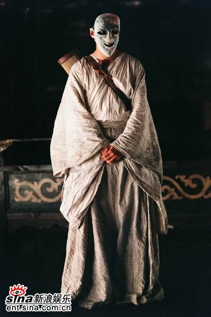 图文:吴彦祖《夜宴》造型曝光--舞者面具