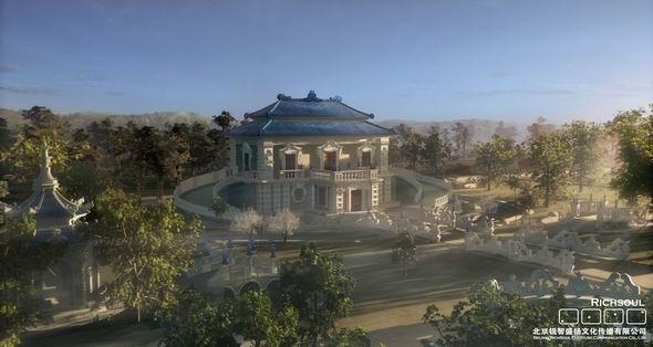 图文:《圆明园》三维风景剧照--方外观