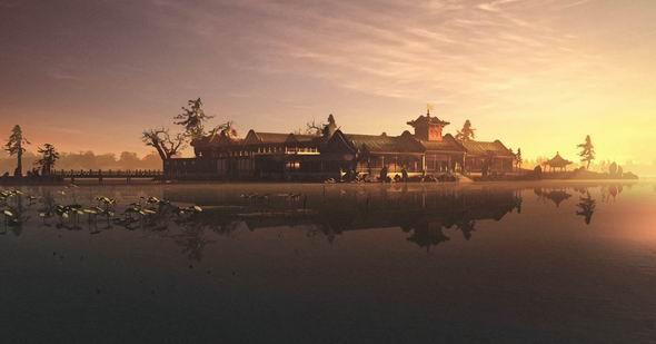 图文:《圆明园》三维风景剧照--蓬岛瑶台