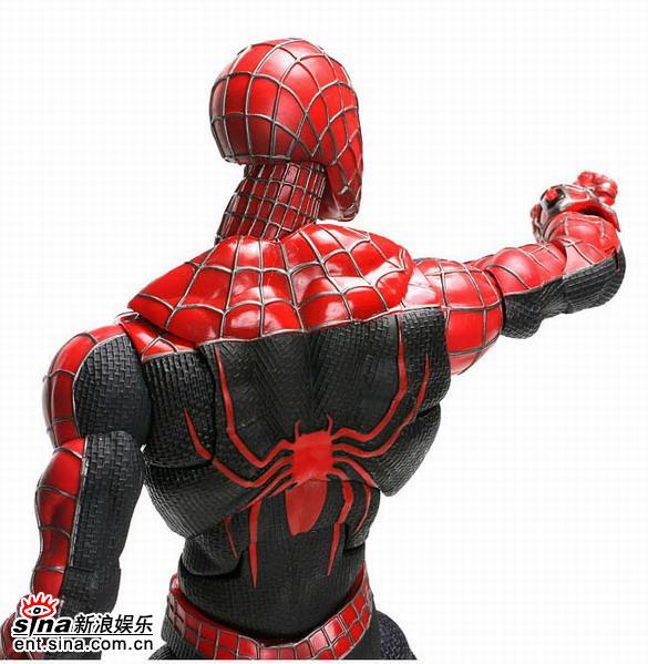 图文:《蜘蛛侠3》玩具欣赏(25)