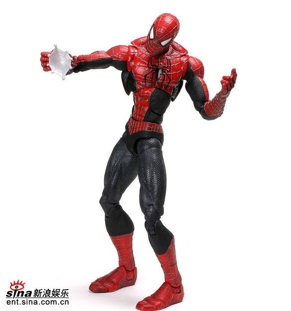 图文:《蜘蛛侠3》玩具欣赏(27)