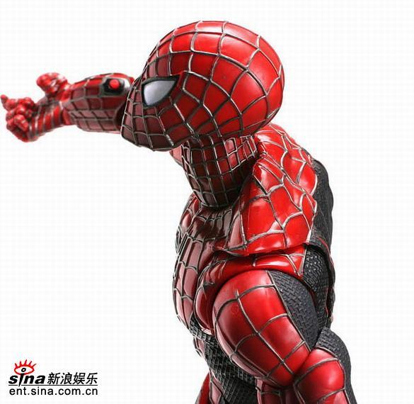 图文:《蜘蛛侠3》玩具欣赏(34)