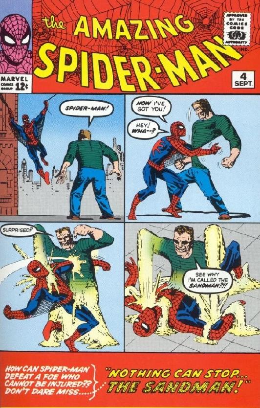 图文:《蜘蛛侠3》漫画之毒液和沙人vs蜘蛛侠(7)