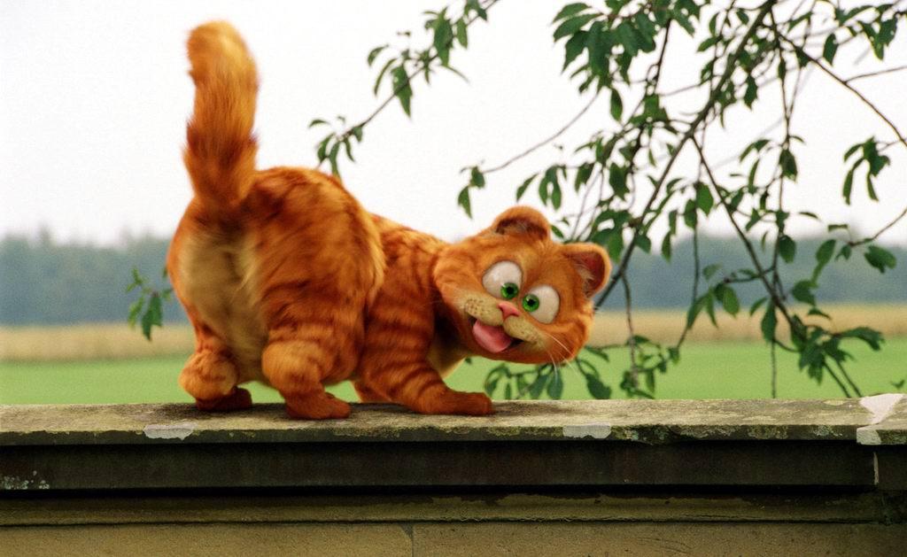 动画片《加菲猫2:双猫记》精美壁纸