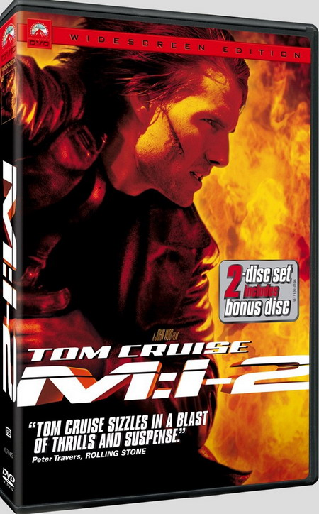 《碟中谍2》宽屏版克鲁斯亲自上阵拍特技(图)