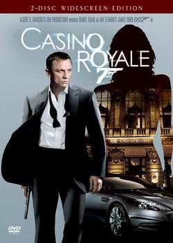 邦德第一回《007之皇家赌场》三区DTS双碟版