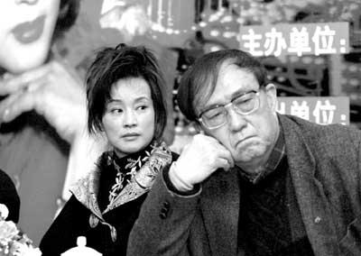 刘晓庆谢晋亮相《金大班的最后一夜》(附图)