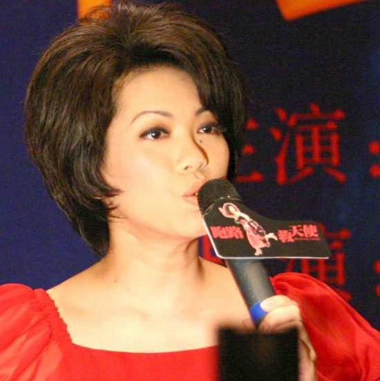 蔡琴北京宣传歌舞剧《跑路救天使》发布会现场