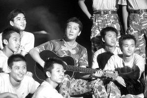 总政歌舞团《一个士兵的日记》上海开演(附图)
