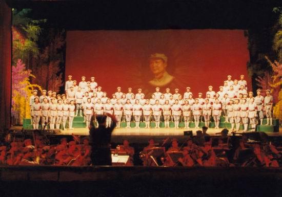 资料图片:红色经典史诗《长征组歌》(12)