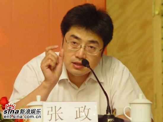 图文:五大团招新发布会--广播艺术团副团长张政