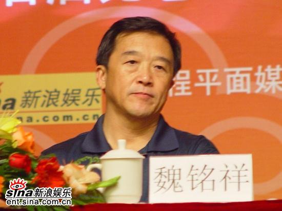 图文:五大团招新--新闻工作者协会副书记魏铭翔