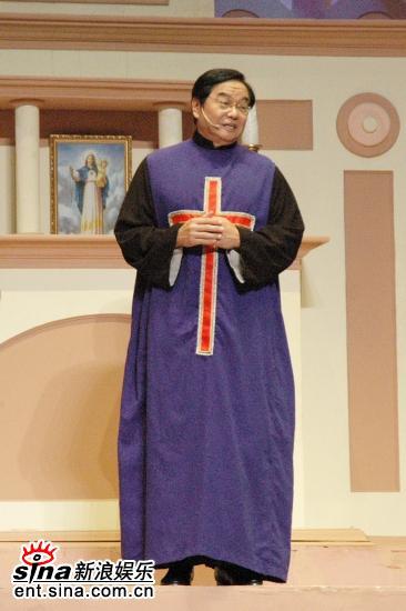图文:《跑路救天使》火热彩排中--牧师