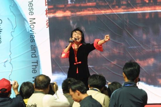 资料图片:两大论坛山西开幕-小香玉
