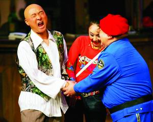 陈佩斯喜气洋洋海淀剧院找观众当《托儿》(图)