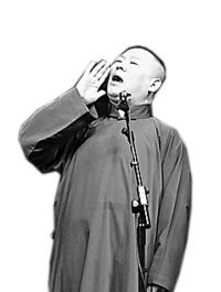 """春节还数郭德纲最""""火""""坚持把剧场相声做下去"""
