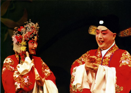 资料图片:昆曲《长生殿》主要演员-蔡正仁
