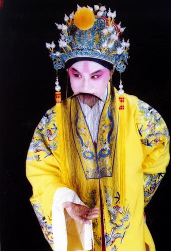 资料图片:昆曲《长生殿》主要演员-张军