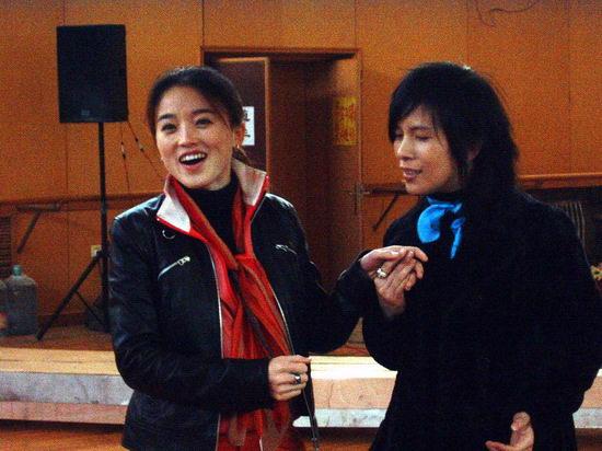 资料图片:《北京女孩》排练照(6)