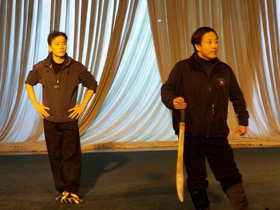 """组图:李宝春""""新老戏""""即将公演北京紧张排练"""