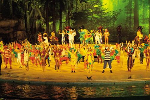 图文:长隆大马戏《森林密码》-精彩呈现