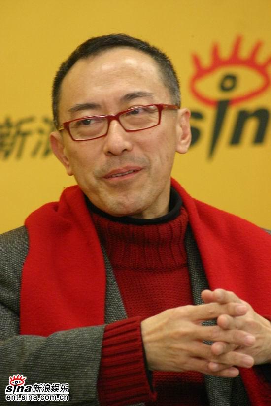 图文:《倾城之恋》主创做客新浪-毛俊辉与网友