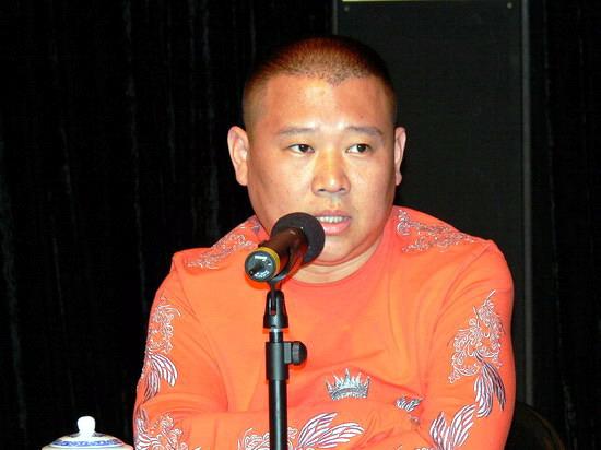 图文:郭德纲召开发布会面对记者提问