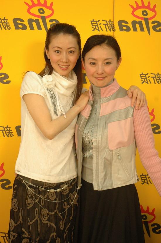 图文:汤加丽李赛凤聊舞剧《魅》-好姐妹好伙伴