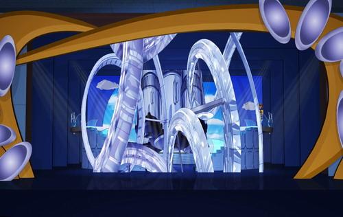 资料图片:CCTV与中演力推《梦想乐园》-太空神话