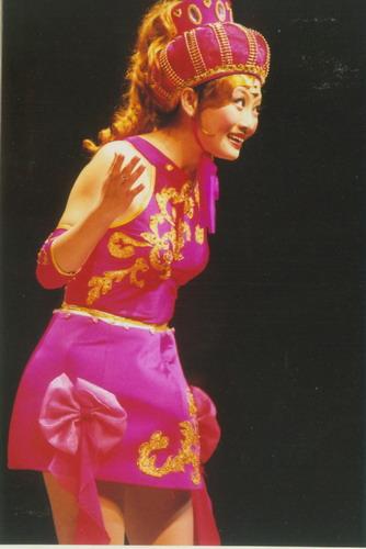 资料图片:中国儿艺大型童话音乐剧《饼干小子》(6)