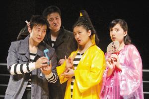 张广天执著先锋喜剧:小剧场是大剧场的妈(图)