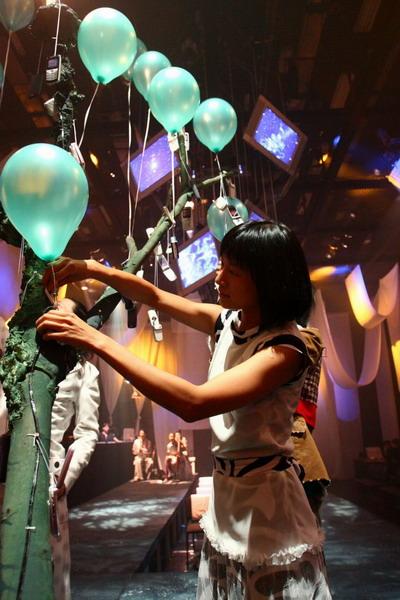 资料图片:亚洲当代戏剧季《银河铁道之夜》剧照(22)