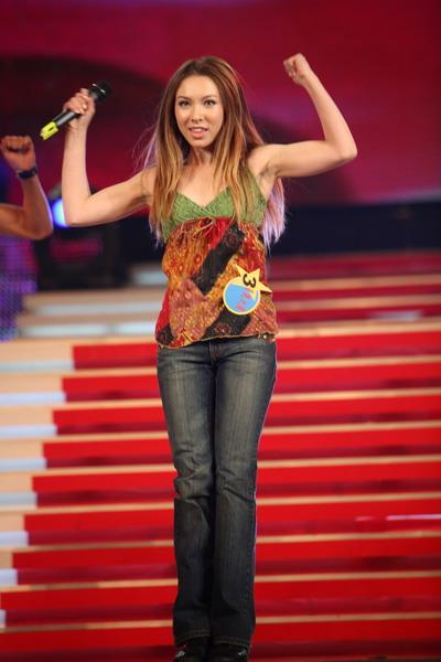 资料图片:《星光大道》第五个月冠军-梅琳(5)