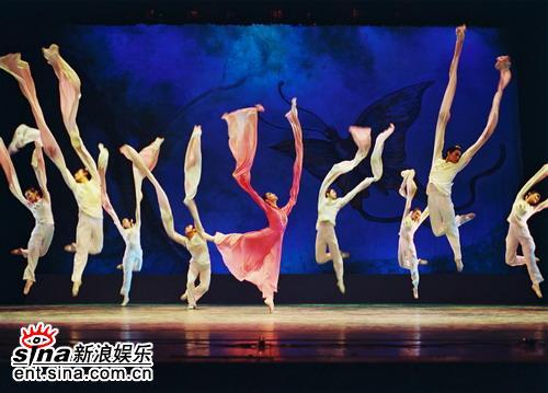 资料图片:中法文化交流之春-舞蹈(1)
