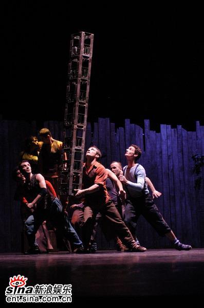 资料图片:中法文化交流之春-舞蹈(9)