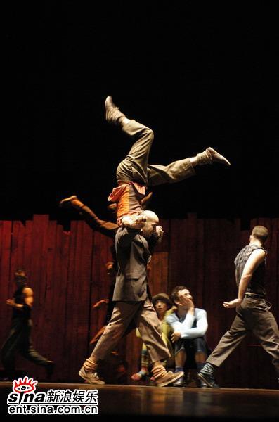 资料图片:中法文化交流之春-舞蹈(11)