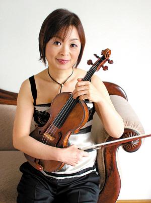 """小提琴家中泽君子将亮相""""上海之春"""""""