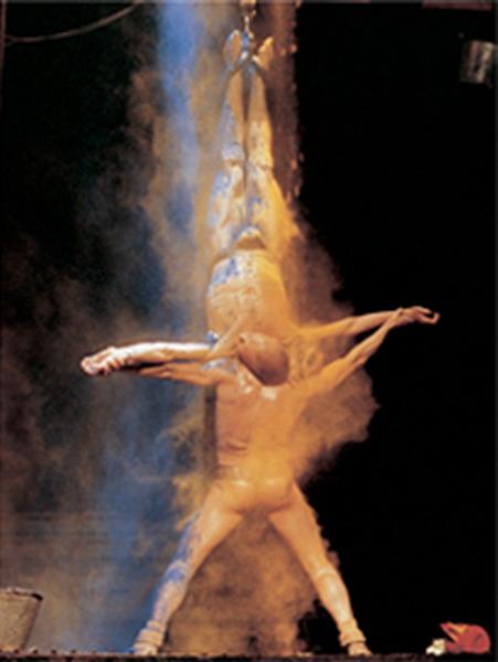 资料图片:西班牙前卫戏剧《帝国》-精彩图片(2)