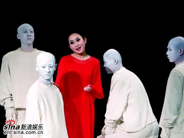 图文:原创话剧《镜子・女人》舞台精彩剧照(16)