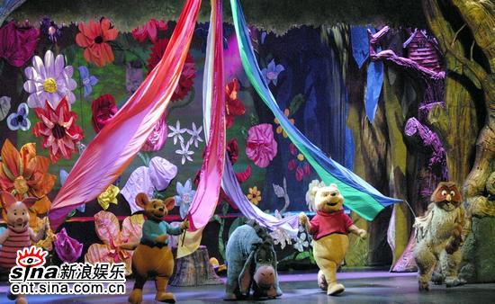 图文:《小熊维尼》保利首演-热闹的生日宴会
