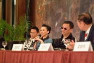 组图:刘嘉玲出席《2046》北京公映发布会
