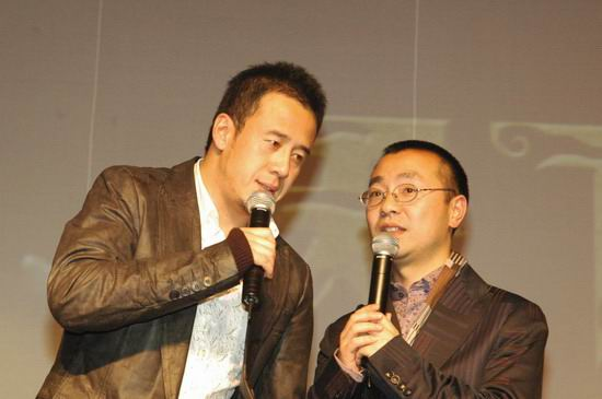 组图:《天下无贼》北京慈善首映--杨坤献唱