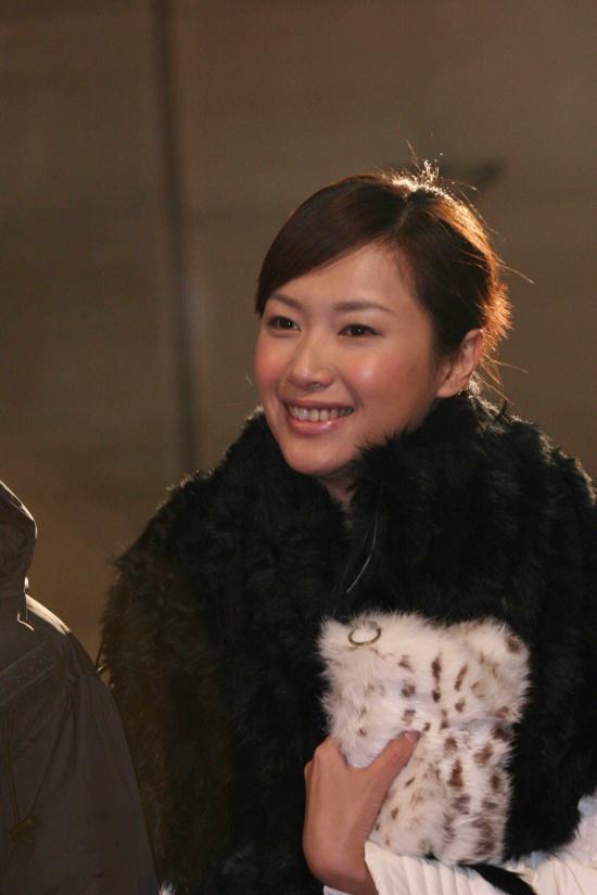 图文:著名女星徐静蕾出席长春电影节闭幕式