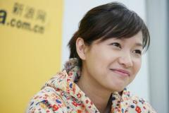 视频:徐静蕾作客新浪聊电影《来信》(组图)
